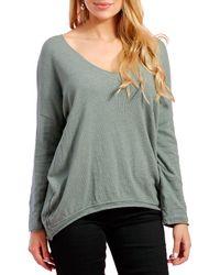 Infinie Passion - Jumper 00w031514 Khaki Women's Sweatshirt In Green - Lyst