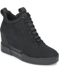 b29cc9edb70 G-Star RAW - Rackam Core Wedge Women s Shoes (high-top Trainers)