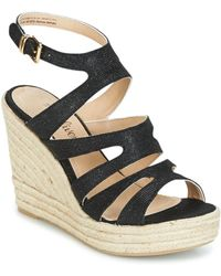 S.oliver - - Women's Sandals In Black - Lyst