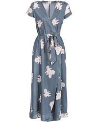 Roxy - District Day Women's Long Dress In Blue - Lyst