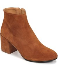 Emma Go - Elna Women's Low Ankle Boots In Brown - Lyst