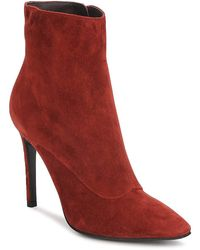 Michel Perry - 13203 Women's Low Ankle Boots In Red - Lyst