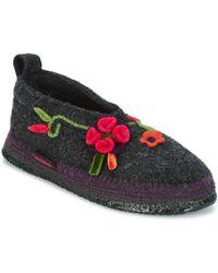 Giesswein - Tangerhüette Women's Slippers In Grey - Lyst