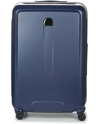 Delsey - Helium Air 2 Val Tr 4dr 76 Women's Hard Suitcase In Blue - Lyst