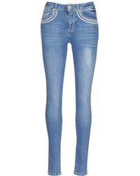 Desigual - Cedou Women's Skinny Jeans In Blue - Lyst