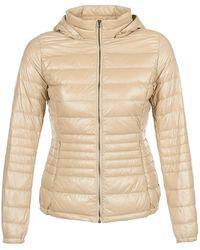 Benetton - Minor Women's Jacket In Beige - Lyst