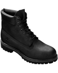 b285cf6f240be Timberland 6 Inch Premium Waterproof Boots in Black for Men - Lyst