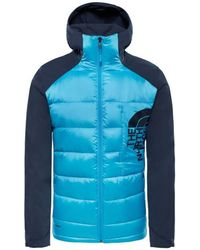 The North Face - Peak Frontier Men s Jacket In Blue - Lyst 49d184893