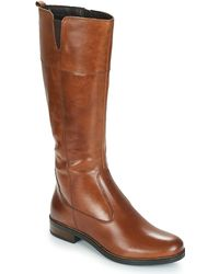 Tamaris - Cary Women's High Boots In Brown - Lyst