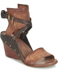 A.S.98 - Kokka Women's Sandals In Brown - Lyst