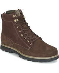 Volcom - Smithington Boot Men's Mid Boots In Brown - Lyst