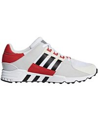 500ece19fc4462 Adidas Eqt Support Rf Men s Shoes (trainers) In Red in Red for Men ...
