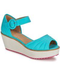 Shellys London | Kulich Women's Sandals In Blue | Lyst