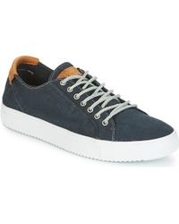 Blackstone - Pm31 Men's Shoes (trainers) In Blue - Lyst