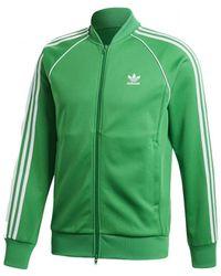 Avec Veste Sur Adidas Vintage Le Survêtement De Bande Lyst Côté wpIdgqxw