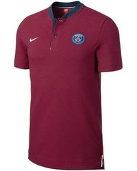 3d9c6f4e875 Nike - 2017-2018 Psg Authentic League Polo Shirt - Kids Men s T Shirt In