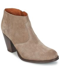 Marc O'polo - Margot Women's Low Boots In Grey - Lyst