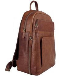 Time Resistance - L.a. Confidential Women's Backpack In Brown - Lyst