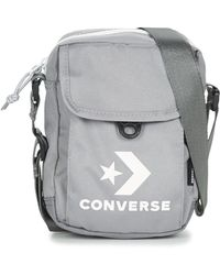 0603dd6273 Converse Chuck Taylor All Star Messenger Bag in Black for Men - Lyst
