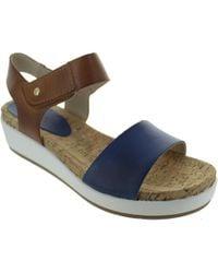 Pikolinos - W1g-0758c3 Women's Sandals In Blue - Lyst