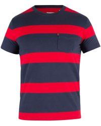 0031cd07caa Levi s Levis Sun Pocket Tee Short Sleeve T-shirt In Dark Blue Dress ...