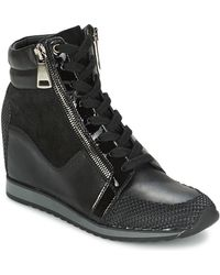 Tosca Blu - Aternum Women's Shoes (high-top Trainers) In Black - Lyst