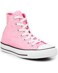 076b022a4c15 Converse - Chuck Taylor Hi Neon 136581c Women s Shoes (high-top Trainers) In
