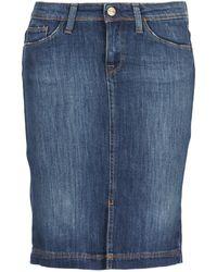 Acquaverde - Naomie Women's Skirt In Blue - Lyst