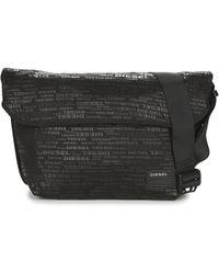DIESEL - Close Messenger Men's Messenger Bag In Black - Lyst