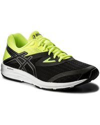 Asics - Amplica Women s Shoes (trainers) In Black - Lyst 3eb0d0922
