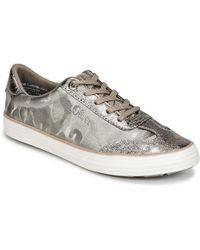 S.oliver - Koukoulo Women's Shoes (trainers) In Silver - Lyst
