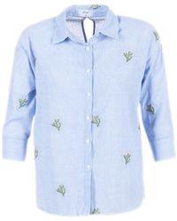 Betty London - Gassa Women's Shirt In Blue - Lyst