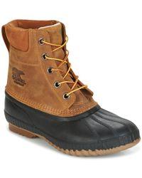 Sorel - Cheyanne Ii Men's Snow Boots In Brown - Lyst