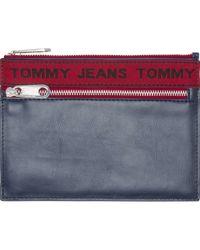 Tommy Hilfiger - AU0AU00262 LOGO TAPE PORTE-MONNAIE Homme Multicolor - Lyst