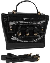Loeds - Bolso Charol Elegante Women's Shoulder Bag In Black - Lyst