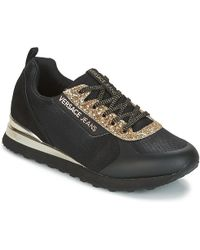Versace Jeans - Amber Vrbsd1 Women's Shoes (trainers) In Black - Lyst