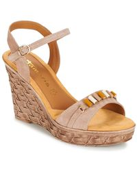 Tamaris - - Women's Sandals In Beige - Lyst
