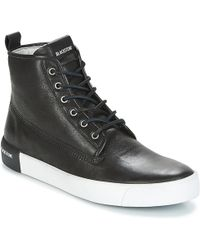 Blackstone - High Trainer (black) Men's Lace Up Casual Shoes - Lyst