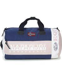 Napapijri - Sarov Men's Travel Bag In Blue - Lyst