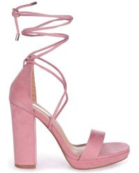Linzi - Summer Women's Sandals In Pink - Lyst