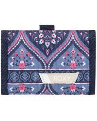 Roxy - Small Beach - Cartera De Triple Hoja Para Mujer Women's Purse Wallet In Multicolour - Lyst