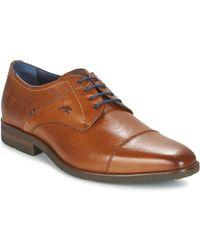 Fluchos BORNEO hommes Chaussures en Marron