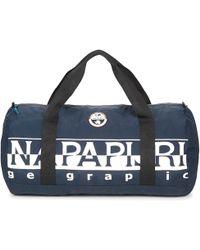 Napapijri - Bering Pack Large Women's Travel Bag In Blue - Lyst