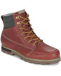 Volcom - Sub Zero Boot Men's Mid Boots In Red - Lyst