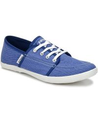 Feiyue - Cassis Women's Shoes (trainers) In Blue - Lyst