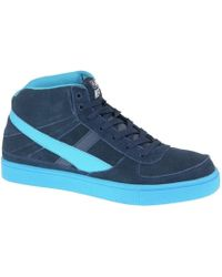Smith's - Empire Ms 1061 Navy Men's Shoes (high-top Trainers) In Multicolour - Lyst