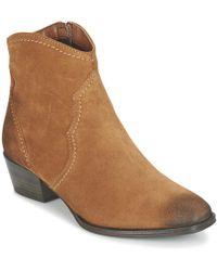 Tamaris - Talisa Women's Mid Boots In Brown - Lyst