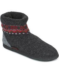 Giesswein - Kristiansand Women's Slippers In Grey - Lyst