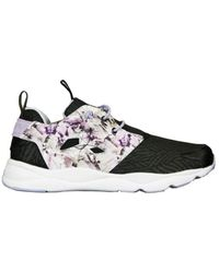 Reebok - Clasic Furylite Girl Women s Shoes (trainers) In Black - Lyst 64a85f858