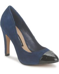 French Connection - Trudy Women's Court Shoes In Blue - Lyst